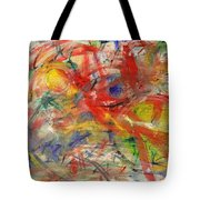Water And Wax Tote Bag