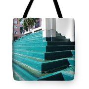 Water At The Federl Courthouse Tote Bag