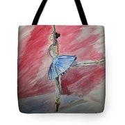 Water Ballerina Tote Bag