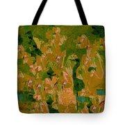 Water Bird Tapestry Tote Bag