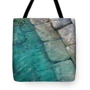 Water Blocks Tote Bag