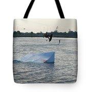 Water Boarding Tote Bag