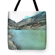Water Body In The Himalayas Tote Bag