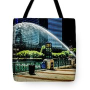 Water Canon In Color Tote Bag