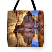 Water Canyon Tote Bag