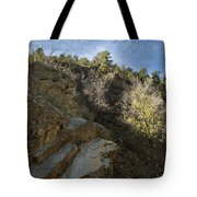 Water Canyon Sky View Tote Bag