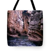 Water Caves - Italy Tote Bag