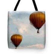 Water Color Balloons Tote Bag