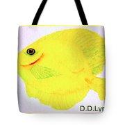 Water Color Of Fish Tote Bag