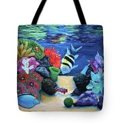 Water Colors Tote Bag