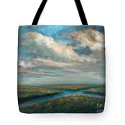 Water Cross Tote Bag
