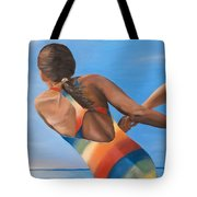 Water Dance Tote Bag