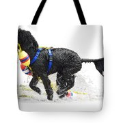 Water Dog 7 Tote Bag