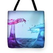 Water Drop 27 Tote Bag