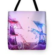 Water Drop 28 Tote Bag