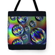 Water Droplets 4 Tote Bag