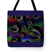 Water Droplets 5 Tote Bag