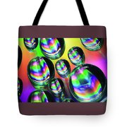 Water Droplets 6 Tote Bag