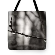 Water Droplets Tote Bag