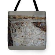 Water-fall After Rainy Season Tote Bag