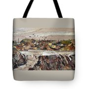 Water Fall Tote Bag