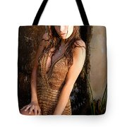 Water Fall Beauty Tote Bag