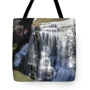 Water Fall In Tennessee  Tote Bag