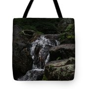Water Fall Stilled Tote Bag