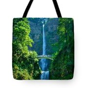 Water Falla Tote Bag