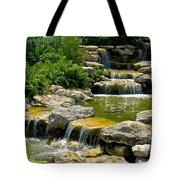 Water Falls Tote Bag