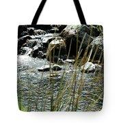 Water Flowing 2 Tote Bag