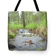 Water Flows After A May Rain Tote Bag