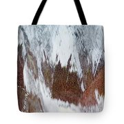Water Fountain Abstract #34 Tote Bag