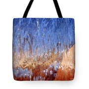 Water Fountain Abstract #63 Tote Bag