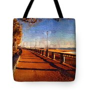 Water Front Park  Tote Bag