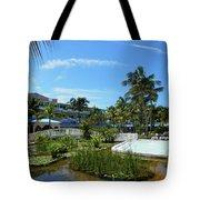 Water Garden Tote Bag