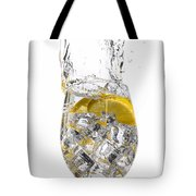 Water Glass Tote Bag