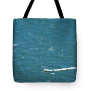 Water Glider Tote Bag