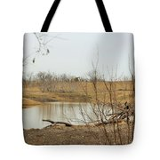 Water Hole 007 Tote Bag
