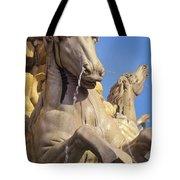 Water Horse Sculpture Tote Bag