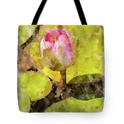 Water Hyacinth Bud Wc Tote Bag