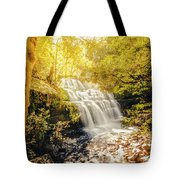 Water In Fall Tote Bag