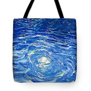 Water In The Pool Tote Bag