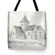 Water Inlet Near Church Tote Bag
