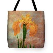 Water Iris - Textured Tote Bag