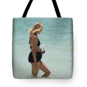 Water Lady Tote Bag