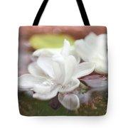 Water Lilac Tote Bag