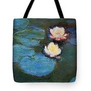 Water Lilies 1899 Tote Bag