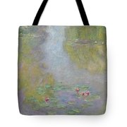 Water Lilies 1908 Tote Bag