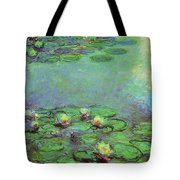 Water Lilies 1917 6 Tote Bag